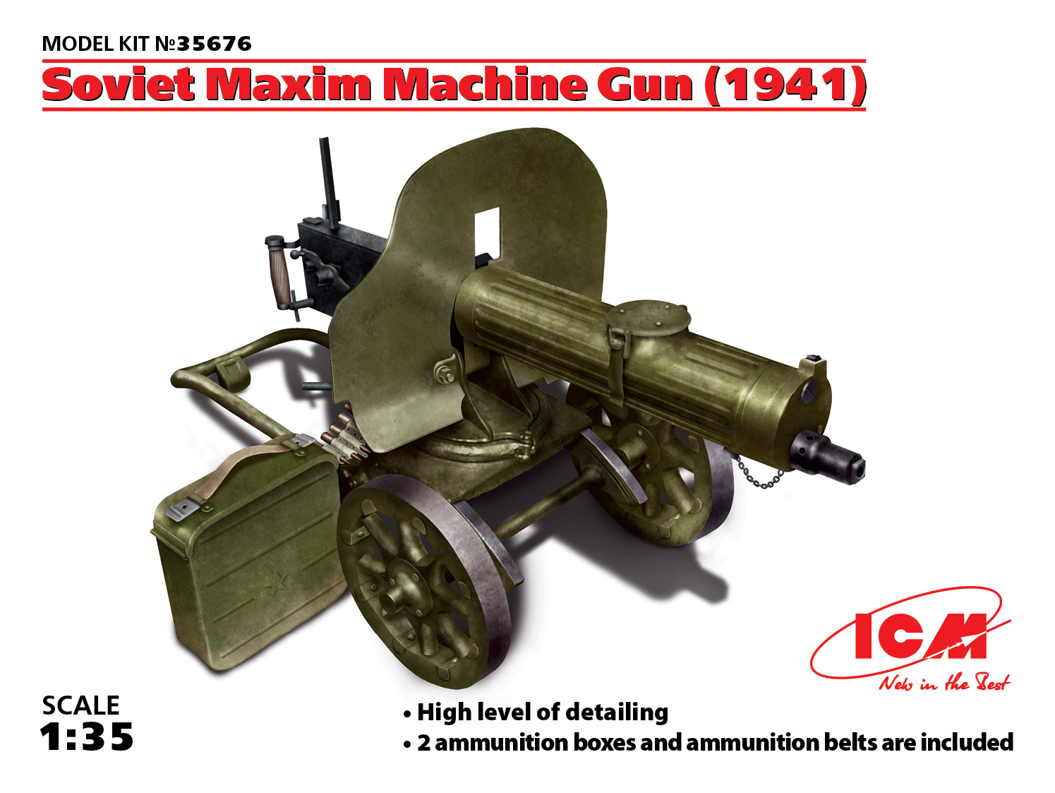 Machine Guns, Kit 1:35