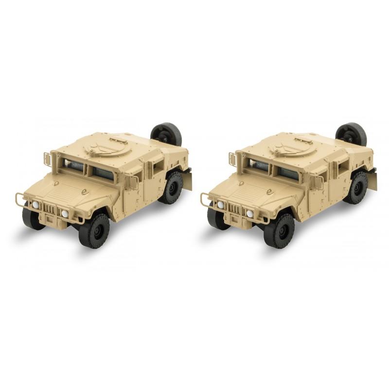 Spur N, Panzer, Auto, Humvee