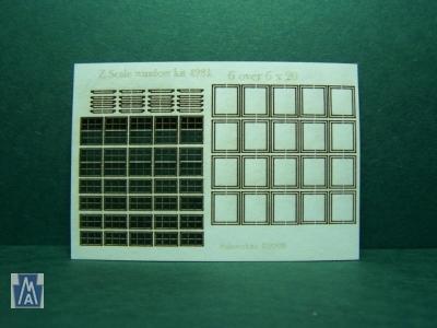 4981 Z Windows Bausatz