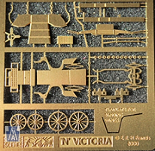 90057 Spur Z, Victoria Carriage, Bausatz, Messing,