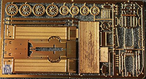 96656 Spur N, Modular Furnituree Van, Möbelwagen, Bausatz, Messing