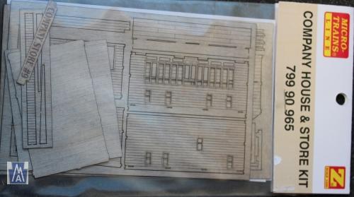 79990965 Company House & Store Bausatz Z Laser Cut