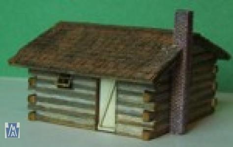4016-3(3Stück) Small Log Cabin Z, Bausatz