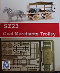 90022 Z Coal Merchants Trolley, Kit, Brass