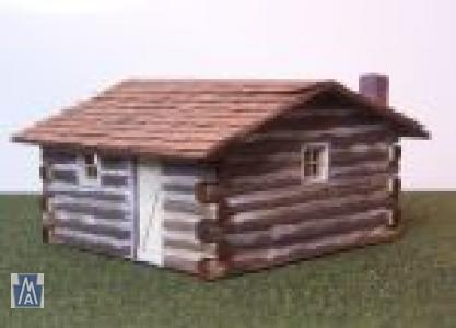 2016 HO Log Cabin Bausatz