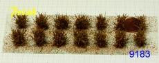 9183 niedrige Sträucher (14) orange, ca. 15mm