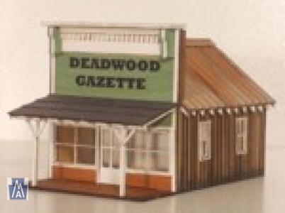 2036 HO Deadwood Gazette Kit