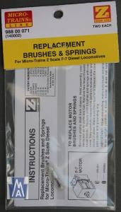 98800071 Springs/Brushes F7 (140002)