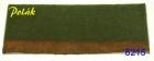 8215 Polak FLOCKDEKOR mittel - grünschwarz, 2mm