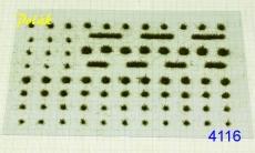 4116 Grasbüschel 3mm - Varianta F
