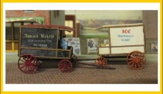 3508 Delivery Wagon, Bausatz, Laser Cut