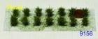 9156 niedrige Sträucher, superfein, grüngemisch