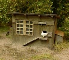 98518 HO Hühnerstall Bausatz