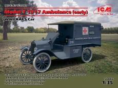 35665, Model T 1917 Ambulance (early), WWI AAFS Car, Bausatz