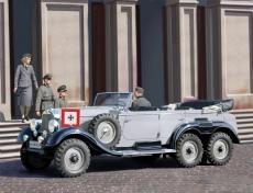 35531,  G4 (1939), German Car With Passengers, Bausatz