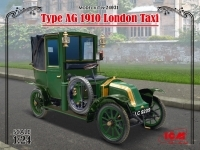 London Taxi AG 1910, ICM 24031, Bausatz