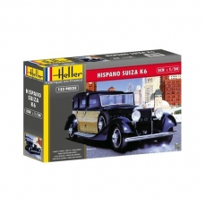1580704 Hispano Suiza K6 Kit, unpainted, Plastic Kit 1/24