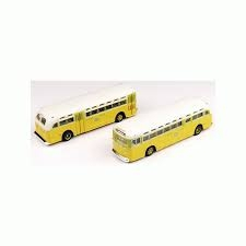 52302 Transit Bus, National City Lines, Shore Line, Bausatz