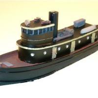 30055 Z  Diesel Tug Boat,Z Scale