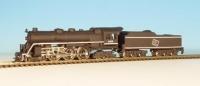 30030, RTR, Z gauge, Milwaukee Hudson, Class F6, 4-6-4, brass
