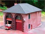 Z03 Z scale New England Firehouse, Bausatz