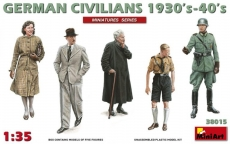 38015 German Civilians 1930-40s in 1:35 [6469015], Bausatz