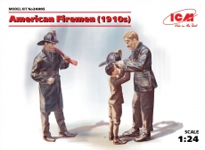 24005, American Firemen 1910s in 1:24 [3314005] Kit
