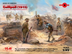 DS3501 Gallipoli (1915) in 1:35 [3310351], Kit