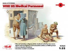 35694 WWI US Medical Personnel in 1:35 [3315694], Bausatz