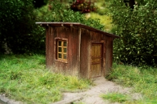 91511 TT Switch-mens shed / Hütte des Weichenstellers, Bausatz