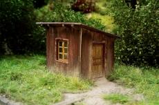 96511 N Switch-mens shed, Hütte des Weichenstellers, Wärterbude, Bausatz