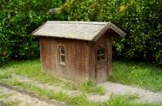 96515 N Switch-mens shed, Weichenstellerhütte, Gerätebude, Bausatz