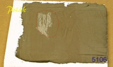 5106 Plasticine dark brown, 500gr.