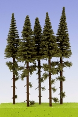 SK150 Spruce / Fichte with short trunk 150 mm (4x)