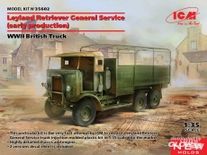 3315602 / 35602 Leyland Retriever General Service (early production) Europe 1944/45 Bausatz