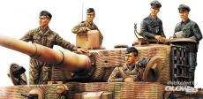 3484401 / 84401 German Panzer Tank Crew (Normandy 1944), Kit