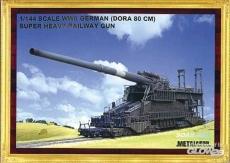 1539998/03701, Eisenbahngeschütz Dora, Bausatz, 1:144