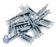 99040908 Z Schienenverbinder, Road Bed Joiner,  Plastik, Packung mit 24 Stück