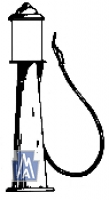 EH 601 / Gas Pump HO Bausatz