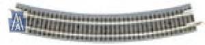 99040903 Z/Nn3 Gebogenes Gleis R195mm x 30 Grad, Packung mit 12 Stück