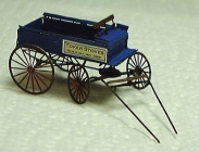 3073 HO Express Delivery Wagon Bausatz Messing