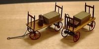 3037 HO Baggage Cart Bausatz Messing