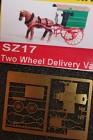 90017 Z 2 Wheel Delivery Van, Lieferwagen, Pferdewagen, Bausatz