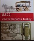 90022 Z Coal Merchants Trolley, Kohlenhändlerlieferwagen, Bausatz, Messing