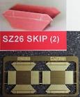 90026 Z Skip Rubbish Bin, Kit, brass