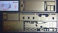 900604 Z Engine Shed for Railbus Bausatz Messing