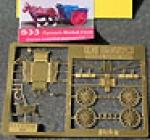 SHO33, HO, Bausatz, Farmers Market Cart, Bauernwagen, Messing