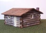 2016 HO Log Cabin Kit, Lasecut