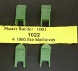 HO, 1022, Mailbox (4), Briefkästen, Bausatz