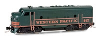 98001292 Western  Pacific F 7 A Unit RD# 921